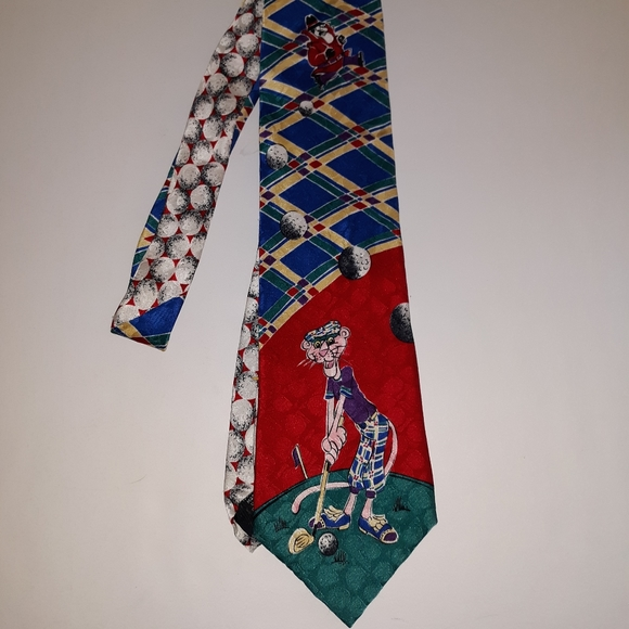 The Pink Panther tie 1993 by Plaid Master